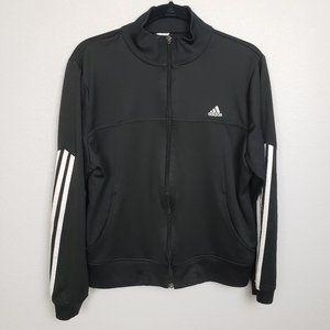 Adidas black jacket size large